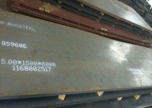 960 Placă de oțel de înaltă rezistență