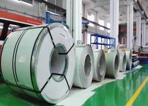 Bobină din oțel inoxidabil 321 1.4541 / X6CrNiTi18-10